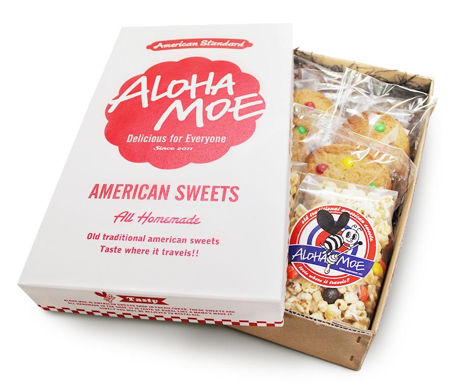 アメリカンなお菓子のギフトボックス - アルニコデザイン