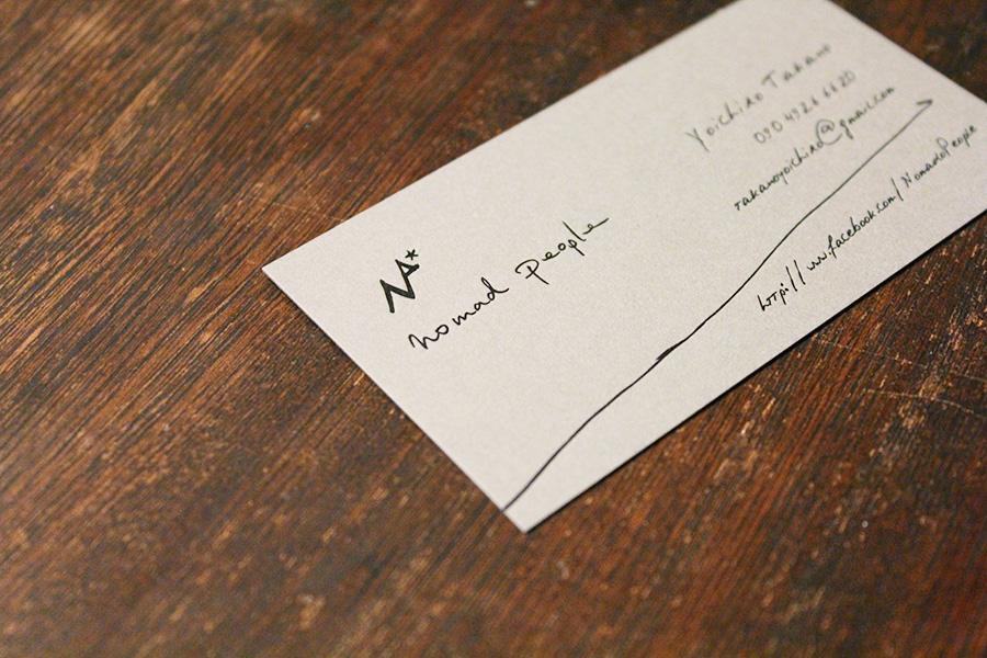企業の活版印刷名刺 - アルニコデザイン