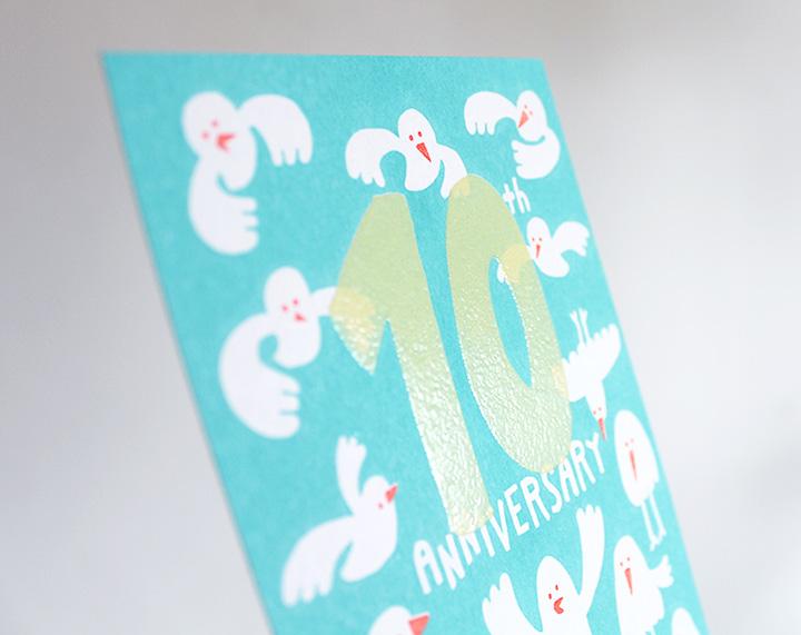 バーコ印刷を使った美容室のかわいいカード - アルニコデザイン