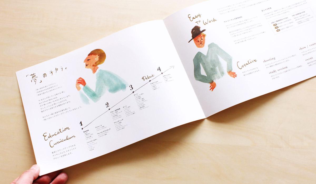 大阪の美容室Fuse会社案内-アルニコデザイン