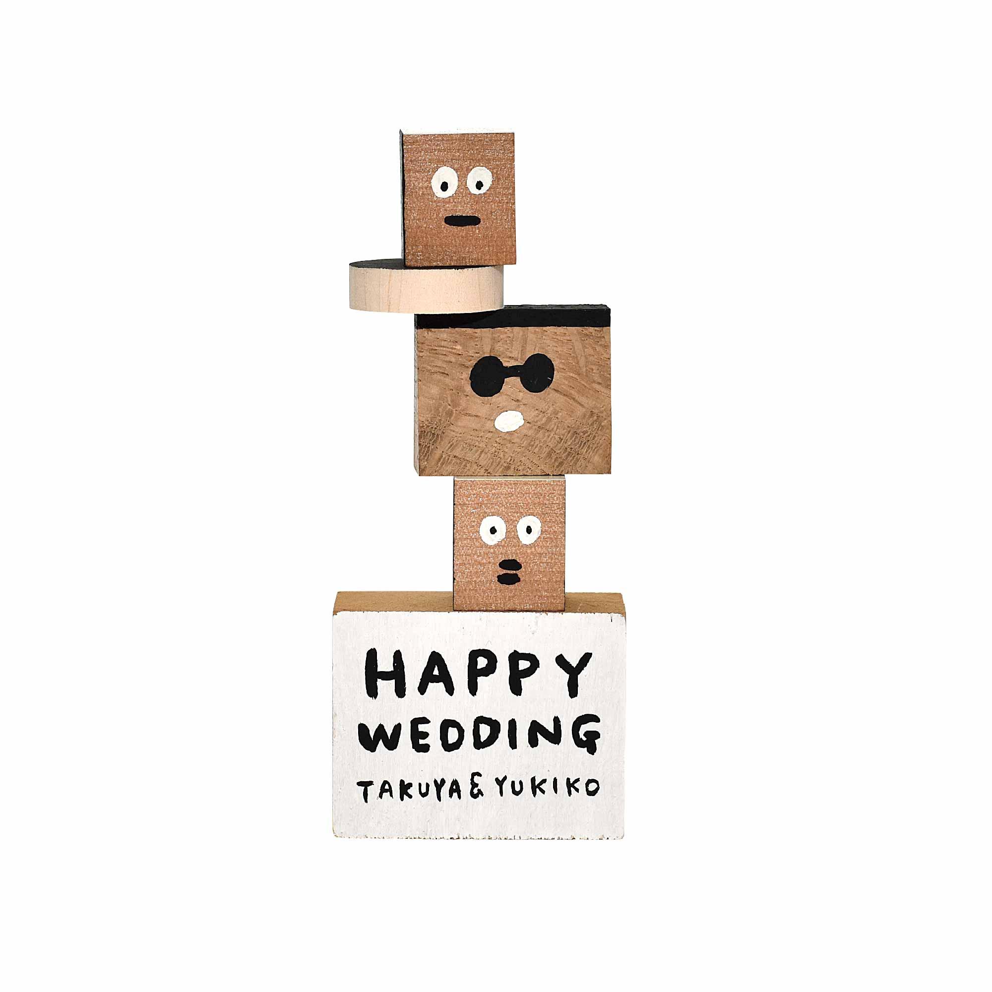 結婚式ディスプレイ会場装飾積み木